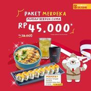 Ichiban Sushi Paket Merdeka Rp. 45.000 (27202531) di Kota Jakarta Selatan