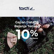 TORCH Official Promo 10% All Items (27208315) di Kota Jakarta Selatan