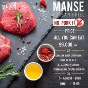 Manse Korean Grill Promo 99k All You Can Eat (27208343) di Kota Jakarta Selatan