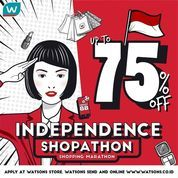 WATSONS PROMO INDEPENDENCE DAY UP TO 75% OFF (27208547) di Kota Jakarta Selatan