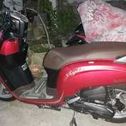 Scoopy Stylish Matte Red 2020 Terawat (27209459) di Kota Semarang
