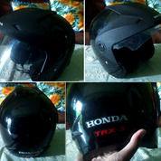 HELM HONDA TRX3 ASLI Helm SNI Terbaik Honda Ori SNI Original Half Face Hitam (27212123) di Kota Semarang