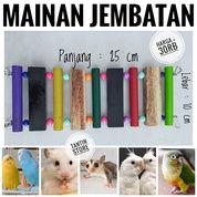 Mainan Jembatan Panjang 25 Cm Untuk Sugar Glider Hamster Burung Lovebird Falk Sunconure (27212511) di Kota Jakarta Pusat