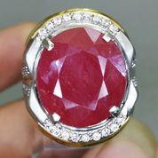 Batu Akik Merah Rubi Besar Natural Asli Kode 2108a (27221255) di Kota Surakarta