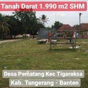Tanah Darat 1.990m2 SHM Di Kecamatan Tigaraksa Kab Tangerang (27227367) di Kab. Tangerang