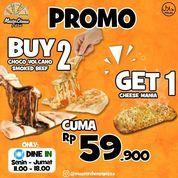 Mastercheese Pizza Promo Buy 2 Get 1 (27236151) di Kota Jakarta Selatan