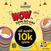 Sushi Go! Birthday Celebration All Sushi 10k (27236299) di Kota Jakarta Selatan