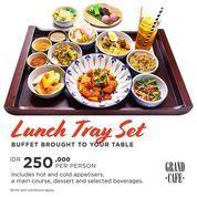 Grand Hyatt Lunch Tray Set (27236575) di Kota Jakarta Selatan