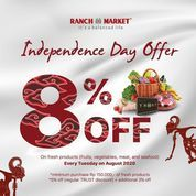 Ranch Market Independence Day Offer 8% Off (27236691) di Kota Jakarta Selatan