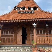 Rumah Joglo Kudus Gebyok Ukir Bahan Kayu Jati, Sokoguru 20cm (27241687) di Kota Jakarta Pusat