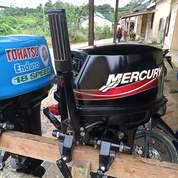 Mesin Tempel Mercury 15 Pk Kondisi 90% (27246691) di Kota Surabaya