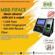 Sale Agustus Mesin Absensi Fingerprint Face Touch Screen MBB Fiface (27247915) di Kota Surabaya
