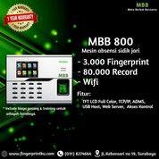 Sale Agustus MBB 800 Mesin Absensi Fingerprint Support ADMS Dan Fitur Wifi (27248231) di Kota Surabaya