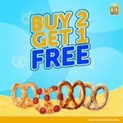 Auntie Anne's Buy 2 Get 1 Free (27253563) di Kota Jakarta Selatan