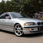 BMW 318i Matic Tahun 2000 Akhir Silver Jok Kulit KM 100.000 TERAWAT (27256075) di Kota Tangerang