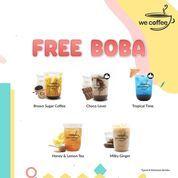 We Coffee PROMO FREE BOBA (27260655) di Kota Jakarta Selatan