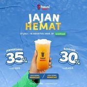 HAUS PROMO JAJAN HEMAT DISKON 30-35% (27262211) di Kota Jakarta Selatan