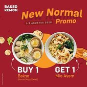 BAKSO KEMON PROMO NEW NORMAL BUY 1 GET 1 (27262383) di Kota Jakarta Selatan