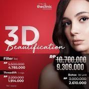 THE CLINIC TEBET PROMO 3D BEAUTIFICATION (27263311) di Kota Jakarta Selatan