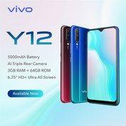 VIVO Y12 RAM 3/32GB RESMI (27265151) di Kota Jakarta Timur