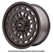 Velg Mobil Pajero Fortuner HSR MYTH08 SW277 Ring 18 Baut 6 Semi Matt Bronze (27266623) di Kota Magelang