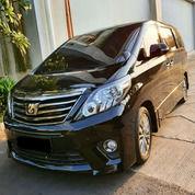 Toyota Alphard S Golden Eyes 2014 Hitam Terawat (27271707) di Kota Jakarta Utara