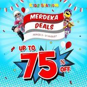 Kidz Station Merdeka Deals Up To 75% (27279067) di Kota Jakarta Selatan