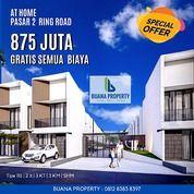 Rumah Modern Minimalis Gratis Semua Biaya Di Pasar 2 Ringroad Medan (27287851) di Kota Medan