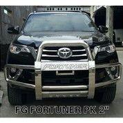 """Bumper Depan Stainless Toyota New Fortuner PK 2"""" (27291023) di Kota Surabaya"""