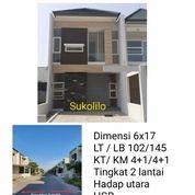 Rumah Sukolilo Dian Regency Surabaya Baru Gress Row Lebar Nego (27291759) di Kota Surabaya