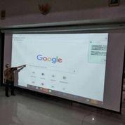 "Manual Layar Projector 120""(3m X 3m) (27300435) di Kota Jakarta Pusat"