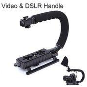 Kamera Camera Stabilizer Grip Video Handle C Shape For DSLR GoPro Xiao (27303743) di Kota Surakarta