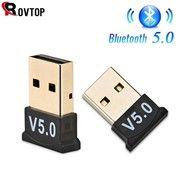 ROVTOP Mini Bluetooth Usb 5.0 Receiver Dongle Dongel (27304183) di Kota Surakarta