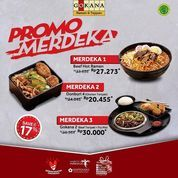 GOKANA TEPPAN PROMO MERDEKA (27305935) di Kota Jakarta Selatan