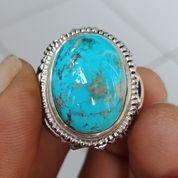Natural Batu Cincin Pirus Persia Biru Jenong (27306559) di Kota Pasuruan