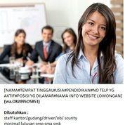 Lowongan Staff Gudang Lulusan Sma/Smk Jabotabek 2020 (27322447) di Kota Jakarta Pusat