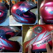 HELM FULL FACE YAMAHA VIXION ORI Warna Merah (27344767) di Kota Semarang