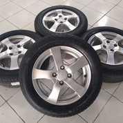 Paket Velg Brio G Muah Ring 14 Plus Ban Dunlop (27354735) di Kota Jakarta Barat