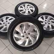 Velg Mobil Copotan Original Bawaan Honda Mobilio Ring 15 Pcd 4x100 Plus Ban (27355523) di Kota Jakarta Barat