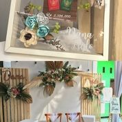 Meja Kursi Akad Dan Backdrop Wedding (27364535) di Kab. Gresik