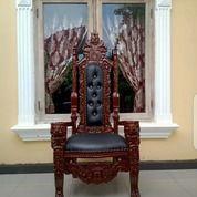 KURSI RAJA KAYU JATI (27380591) di Kota Jakarta Selatan