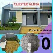 Rumah Modern Minimalis Cluster Alifia Dekat Stasiun Cilebut (27387671) di Kota Bogor