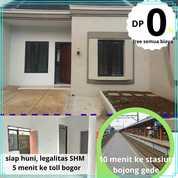 Cluster Zahra Bogor Rumah Tanpa Dp Free Biaya Siap Huni (27388555) di Kab. Bogor