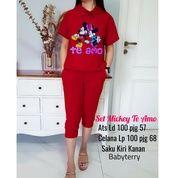 BT82538 Maroon Stelan Hoodie Mickey To Emo (27396523) di Kota Jakarta Timur