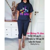 BT82538 Navy Stelan Hoodie Mickey To Emo (27396527) di Kota Jakarta Timur