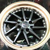 Velg Mobil Racing R15 TIAKUR JD218 HSR Ring 15 Untuk Brio Agya Calya Avanza Livina (27402627) di Kab. Sragen