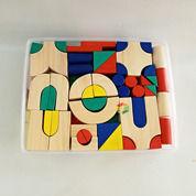 Balok PDK Mini Mainan Edukasi Anak City Block Isi 104 Pcs (27418111) di Kota Kotamobagu