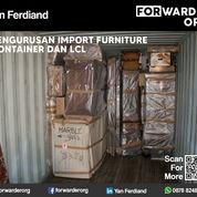 Pengurusan Import Furniture Container Dan LCL   Forwarder Org (27436095) di Kota Jakarta Barat