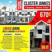 Rumah Cluster Jankes Munjul, Cipayung Jakarta Timur (27468667) di Kota Jakarta Timur