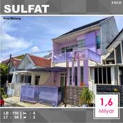 Rumah 2 Lantai Luas 98 Di Taman Sulfat Kota Malang _ 303.20 (27471911) di Kota Malang